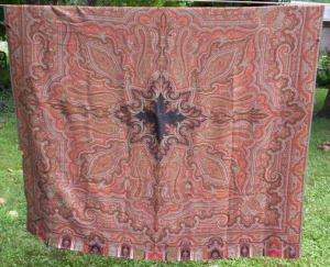 Paisley family shawl, possibly Scottish