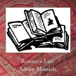 Resource list - Advice Manuals
