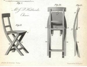 1824 folding chair
