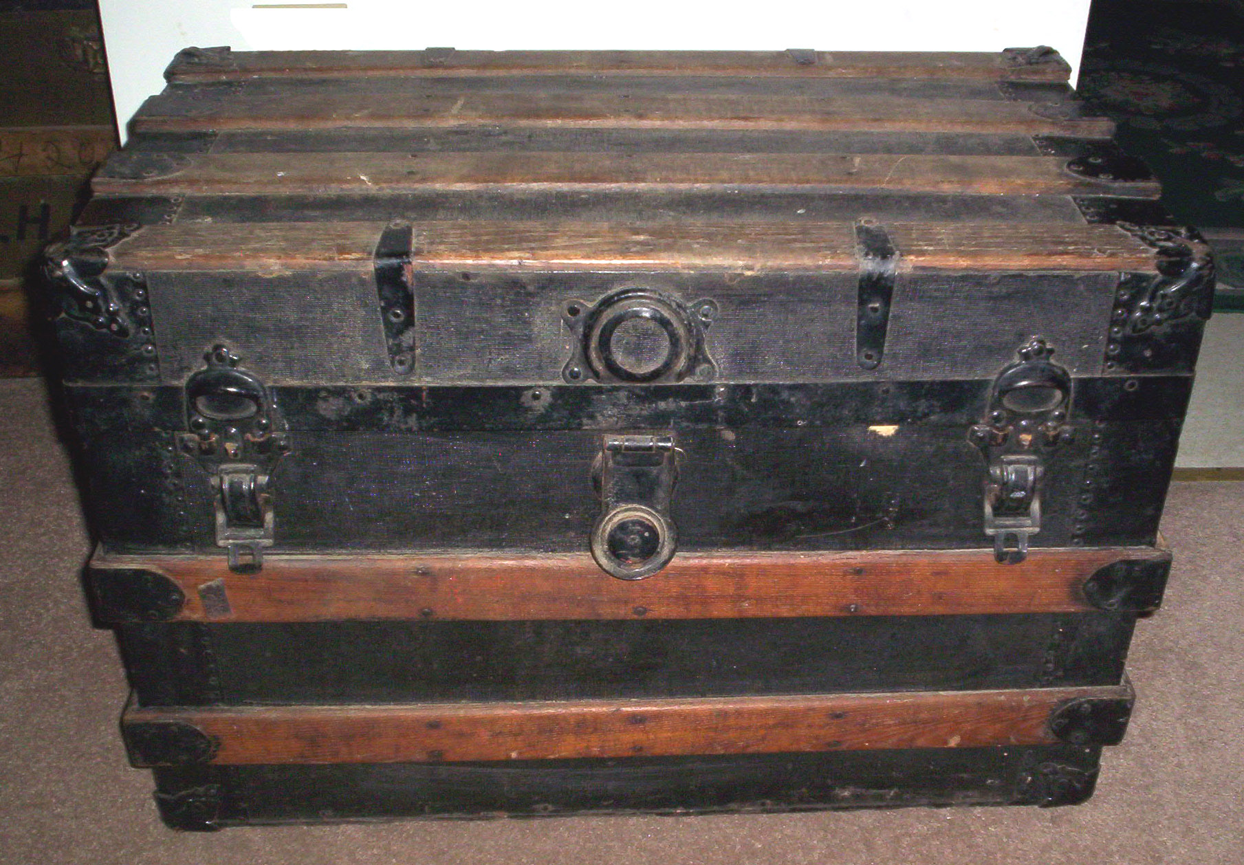 This is a Post-CW Trunk based on the lock. Just an example of a flat ...