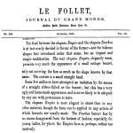 Fanchon Le Follet Sept 1865