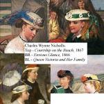 Seaside hats from Charles Wynne Nicholls