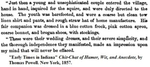 Coarse straw bonnets for the poor 1857