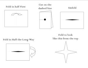 Mini Booklet Directions images