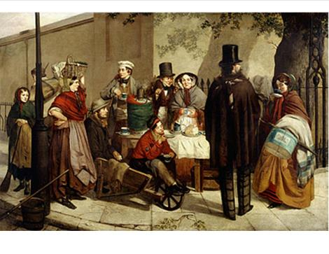 Breakfasting Out, 1859, by Robert Dowling,