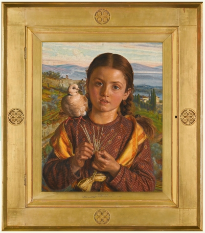 holman-hunt-tuscan-girl-framed-pic