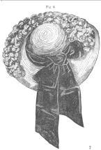 July 1861 Garden hat
