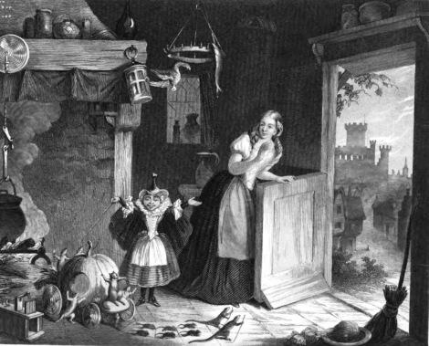 Cinderella 1855
